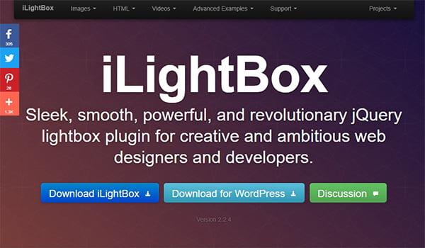 iLightBox dễ sử dụng, hỗ trợ nhiều trình duyệt như Chrome, Safari,...