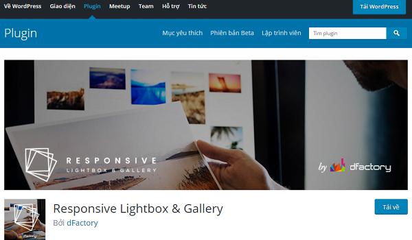 Plugin WordPress giúp tạo Lightbox By dFactory hoàn toàn miễn phí.