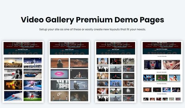Plugin WordPress giúp tạo thư viện Video này tương thích trên mọi thiết bị.