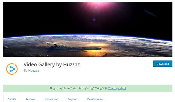 Video Gallery là Plugin WordPress tạo thư viện Video với nhiều hiệu ứng đẹp mắt.