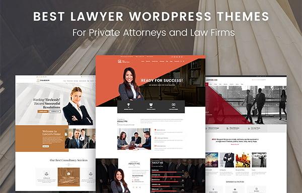 Top 10 Theme luật sư WordPress giúp trang Web tuyệt vời và chuyên nghiệp hơn.