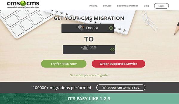 CMS2CMS cho phép nhập nội dung từ một CMS sang WordPress.
