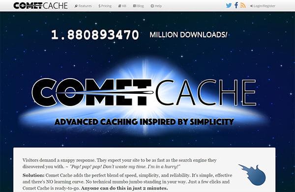 Comet Cache là WordPress Plugin có trả phí với nhiều tùy chọn đa dạng.
