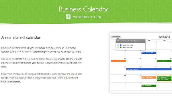 Business Calendar giúp tạo ra một nền tảng làm việc thực sự chuyên nghiệp.