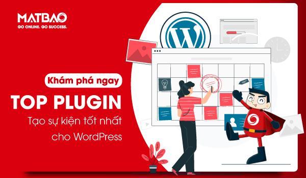 Top plugin tạo sự kiện cho WordPress tốt nhất