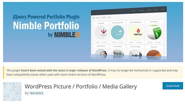 Cài đặt Nimble Portfolio giúp bạn thể hiện trang danh mục sản phẩm của mình chuyên nghiệp hơn.