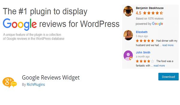Google Reviews Widget giúp tích hợp các đánh giá của Google vào sản phẩm hoặc Website.