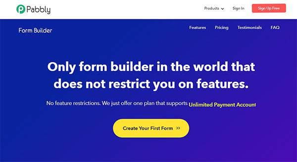Với Pabbly Form Builder, bạn có thể quản lý mọi biểu mẫu từ một vị trí duy nhất.