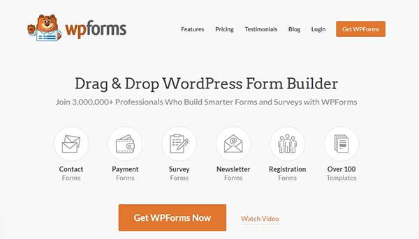 Plugin WPForms có trang báo cáo tổng quan giúp bạn dễ phân tích, theo dõi kết quả khảo sát.