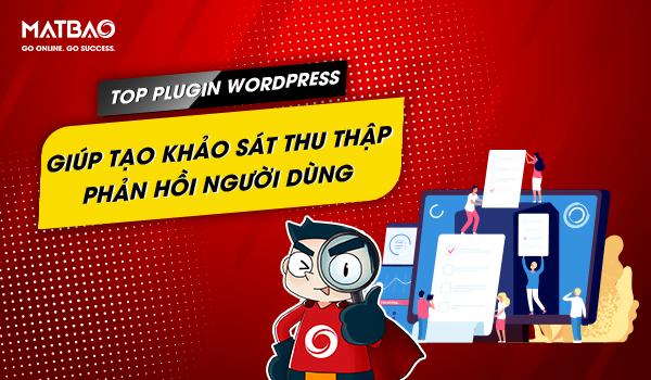 plugin wordpress giúp tạo khảo sát