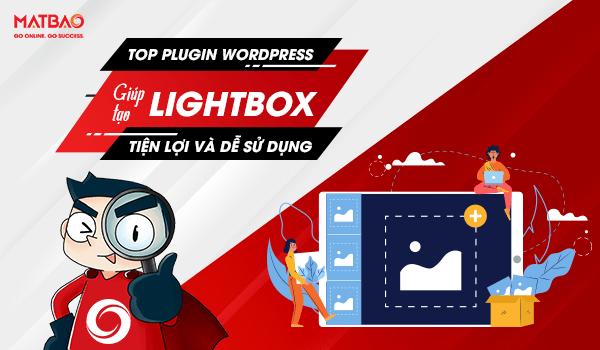 Top Plugin WordPress giúp tạo Lightbox