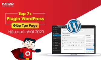 Top 7+ Plugin WordPress Giúp Tạo Page Hiệu Quả Nhất 2020