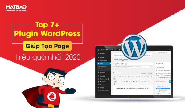 Plugin WordPress tạo Page