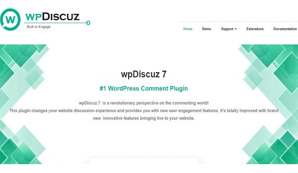wpDiscuz là giải pháp thay thế tốt nhất cho bình luận của Disqus, Jetpack, Livefyre và Facebook