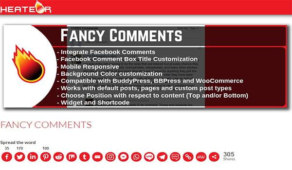 Bạn có thể tải Fancy Facebook Comments từ Website WordPress hoàn toàn miễn phí