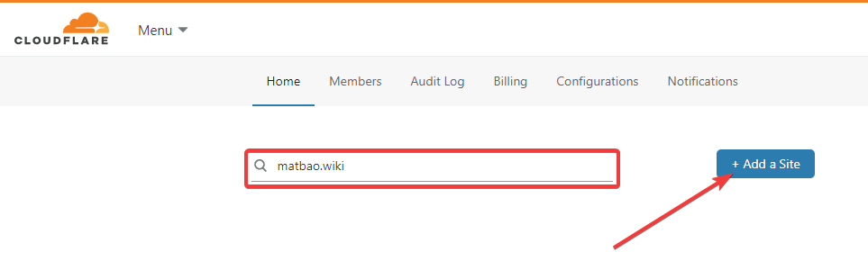 Hướng dẫn cách kết nối CloudFlare với Website WordPress