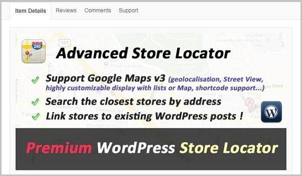 Advanced Store Locator sử dụng công nghệ AJAX để hỗ trợ phân trang.