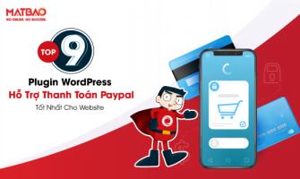 Top 9 Plugin WordPress hỗ trợ thanh toán Paypal tốt nhất cho Website