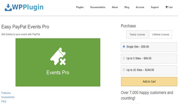 Với số tiền 59.95 USD, bạn đã có thể sở hữu Plugin WordPress hỗ trợ thanh toán PayPal này.