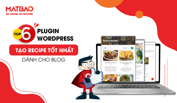 Plugin WordPress tạo Recipe