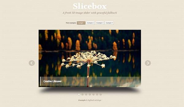 Slicebox sẽ giúp bạn biến những hình ảnh đơn giản thành một bản trình chiếu chuyên nghiệp.