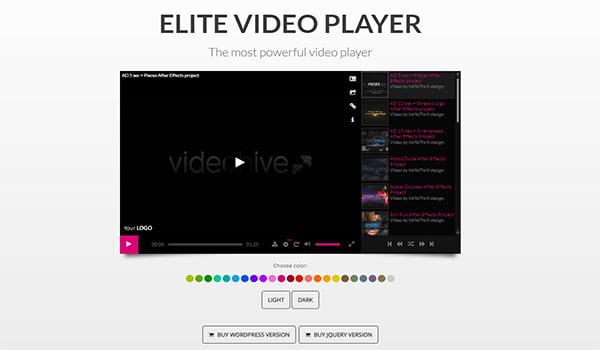 Elite Video Player cho phép tùy chọn ẩn nguồn Video của bạn.