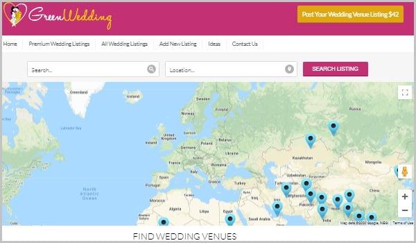GreenWedding tích hợp Google Maps để người dùng theo dõi địa điểm tổ chức đám cưới.