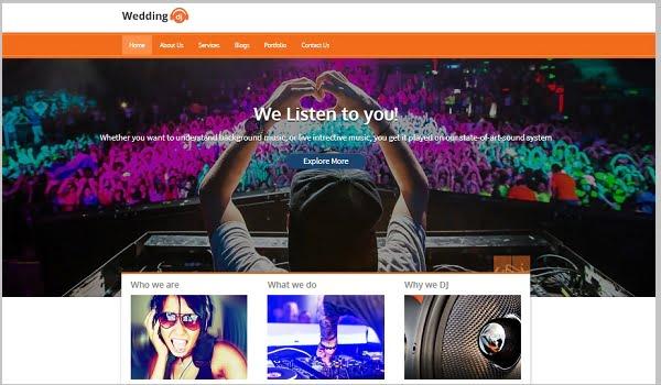Wedding DJ cung cấp 11 tùy chọn màu sắc đẹp mắt cho bạn thỏa sức lựa chọn.