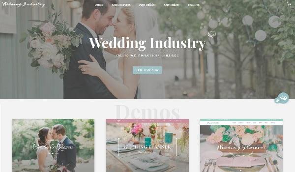 Wedding Industry cung cấp nhiều bản Demo tuyệt đẹp.