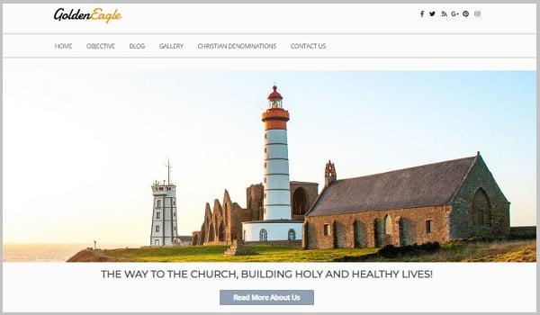 Bạn có thể sử dụng GoldenEagle Church dễ dàng mà không cần biết Code.