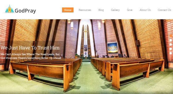 Godpray - Church WordPress Theme