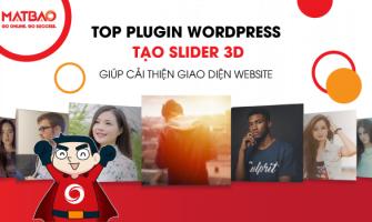 Top 7+ Plugin WordPress tạo Slider 3D giúp giao diện Website trở nên Sống Động