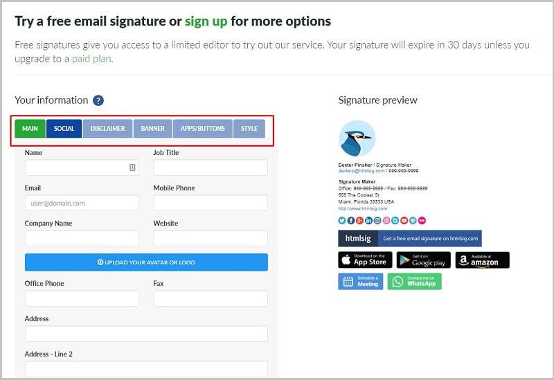 cách tạo chữ ký email