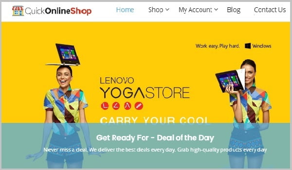 theme wordpress quickonlineshop
