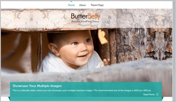 theme cho website nhiếp ảnh