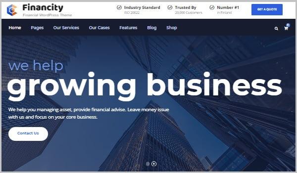 theme financity