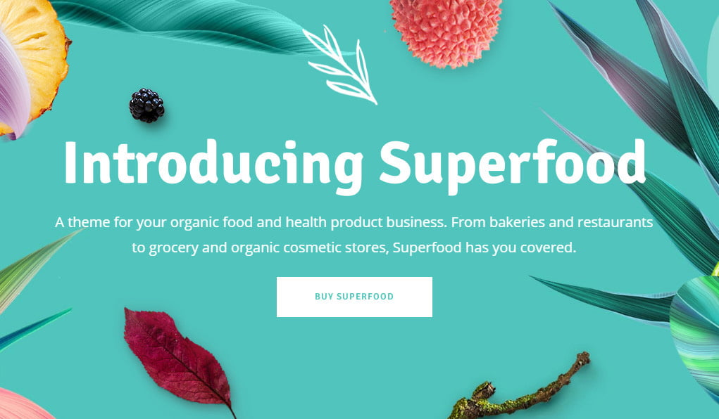 theme superfood
