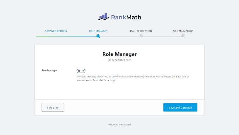 Tùy chỉnh phân quyền sử dụng Rank Math SEO cho các tài khoản trên website.