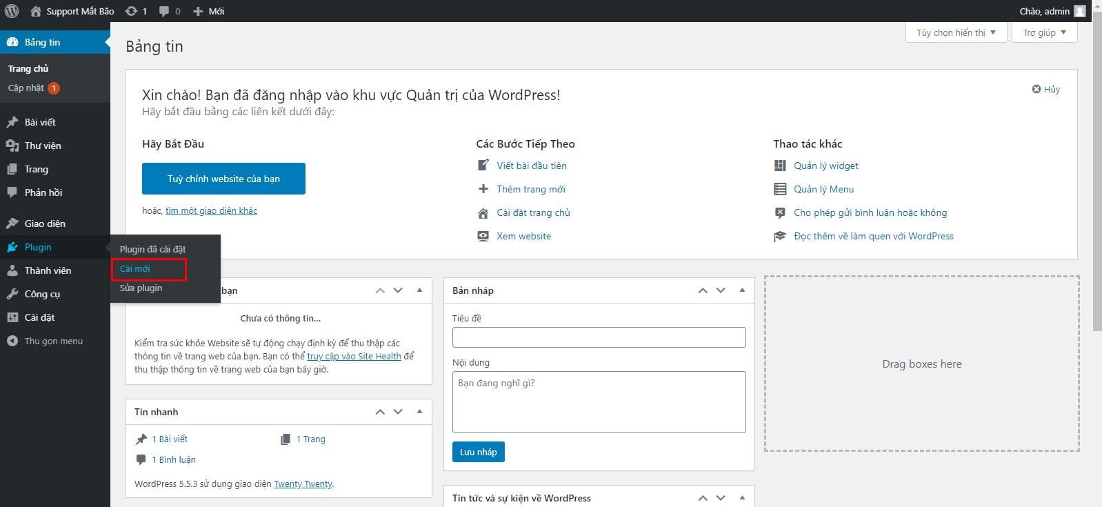 01 - Hướng dẫn cài đặt thông báo đẩy OneSignal cho WordPress từ A tới Z - Trung tâm hỗ trợ kỹ thuật
