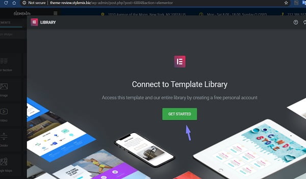 Connect To Template Library