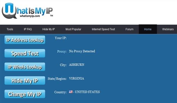 Hướng dẫn kiểm tra vị trí địa lý thông qua IP