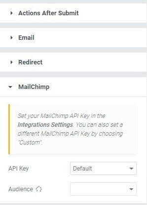 MailChimp Action