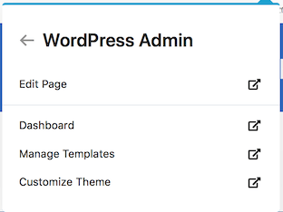 WordPress Admin beaver builder