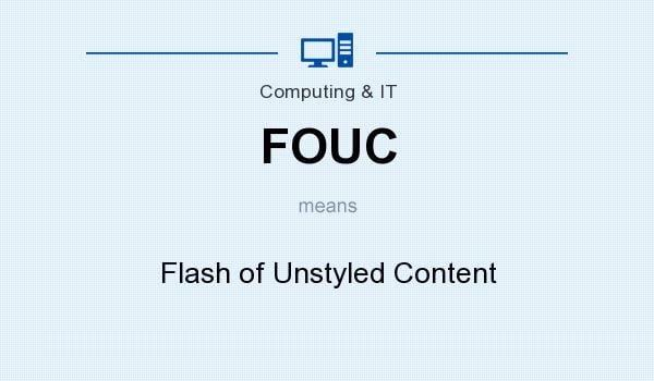 xử lý lỗi Flickers / FOUC trên elementor