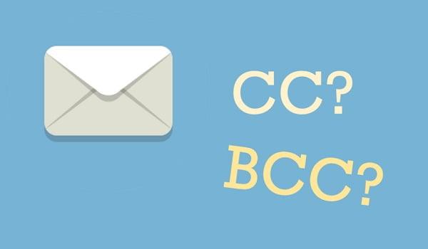 BCC và CC trong Email là gì?