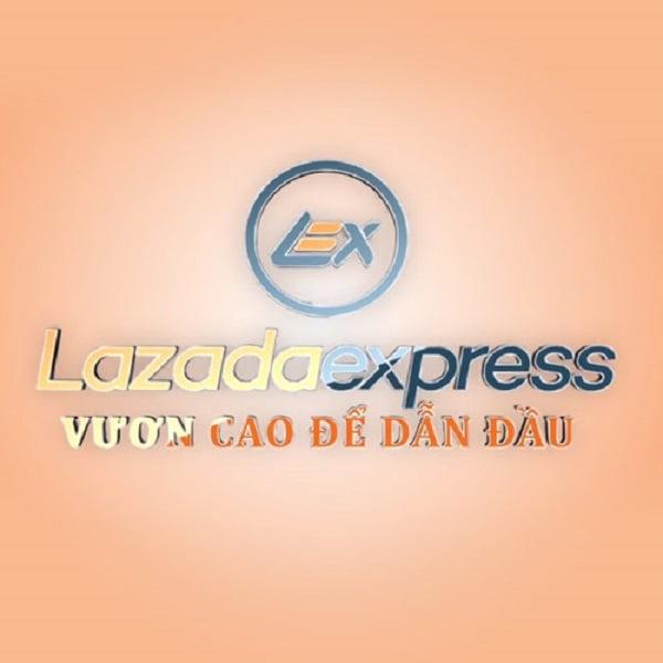 Logo thương hiệu của Lazada Express VietNam