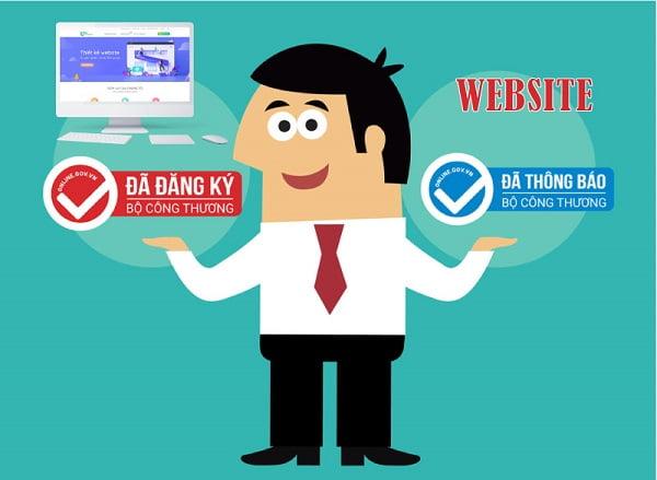 Logo thông báo, đăng ký Website với Bộ Công Thương