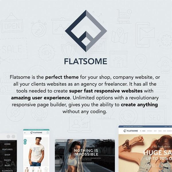 Website truy cập của Flatsome