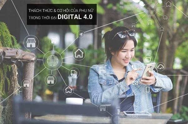 Cách mạnh công nghệ 4.0 dành cho nữ