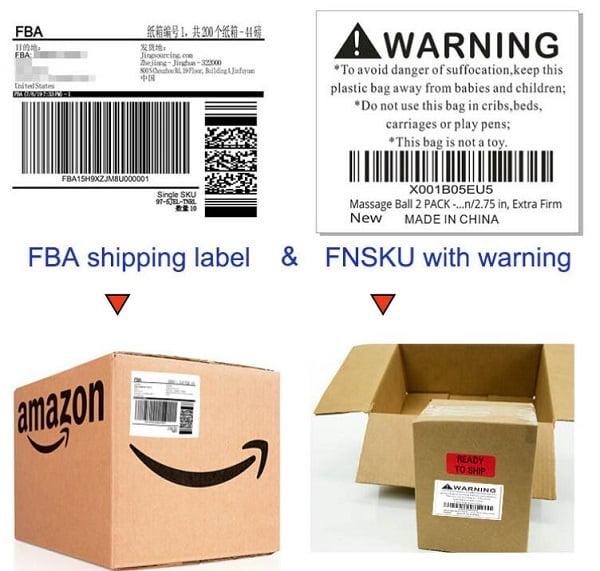 Mẫu Label để hỗ trợ quá trình vận chuyển đến với khách hàng.